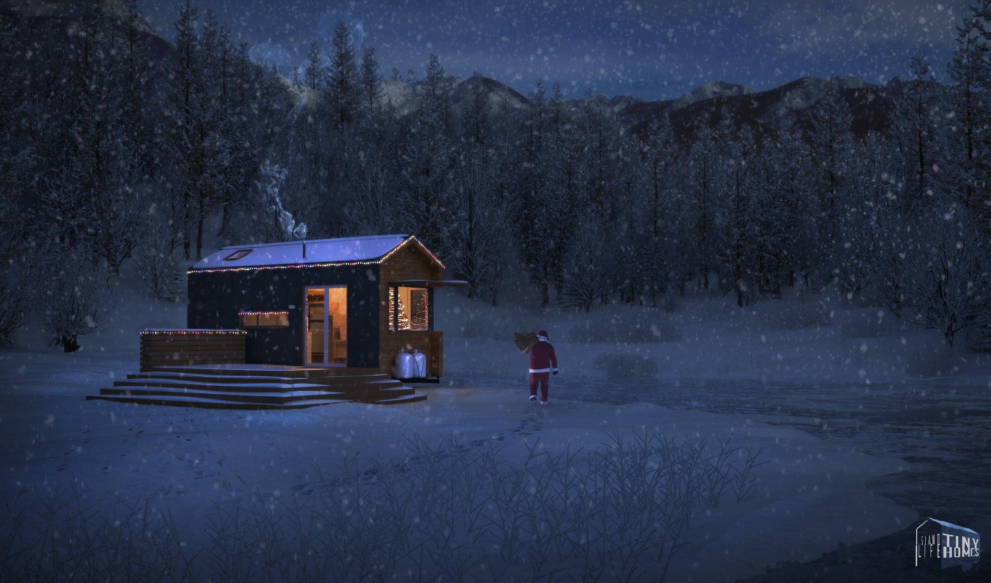 Christmas Tiny House
