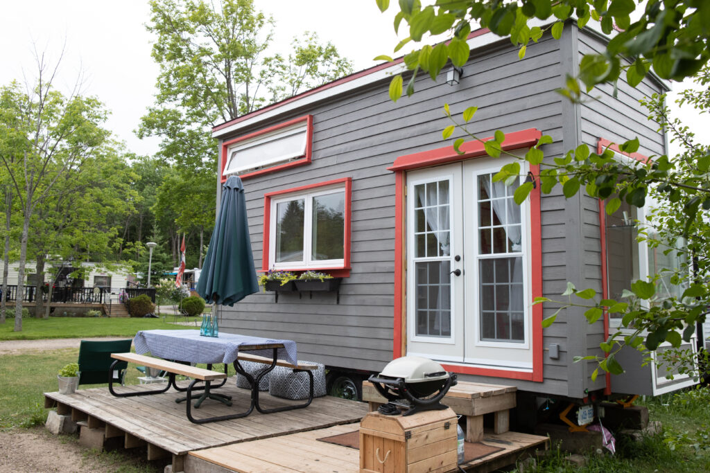 Tiny House Outdoor Seating