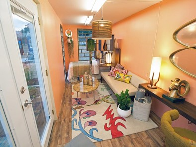 Container Home Inside
